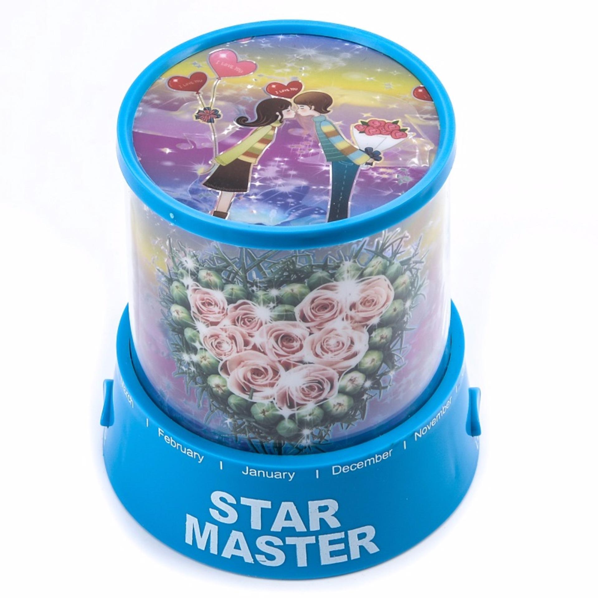 Lampu Hias Proyektor Star Master / Lampu Kamar Tidur - Bike Lovers