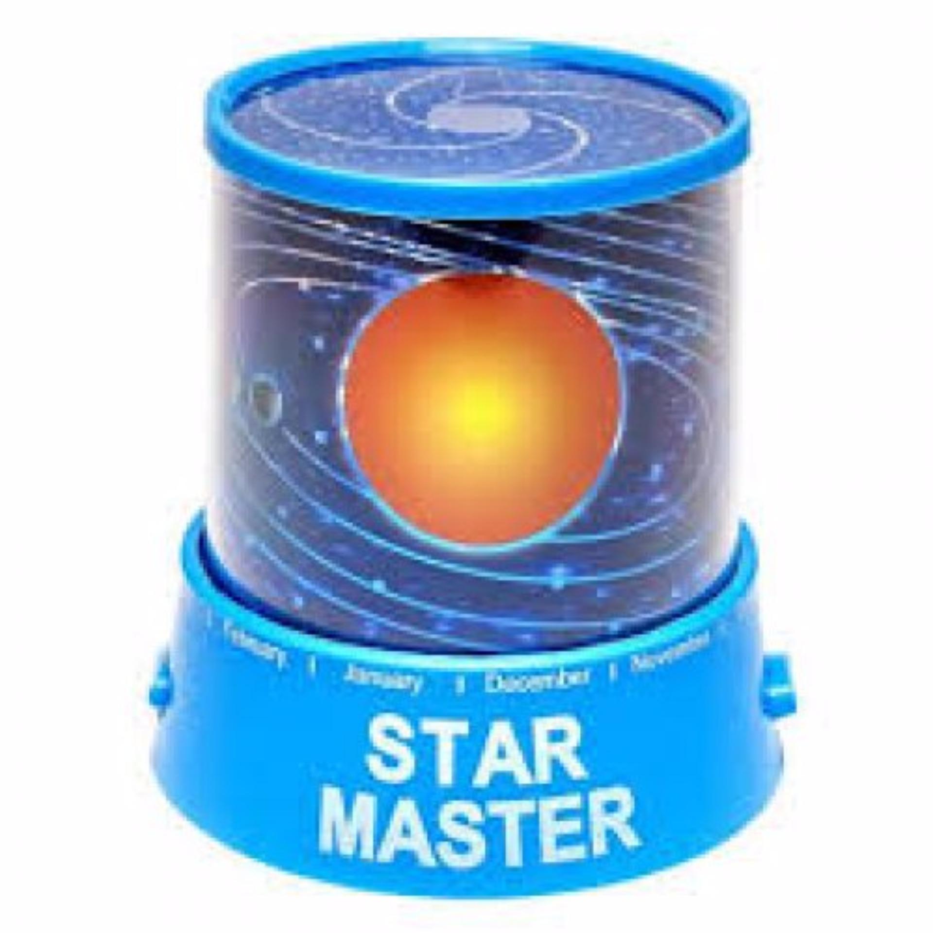 Lampu Hias Proyektor Star Master / Lampu Kamar Tidur - Galaxy Planet