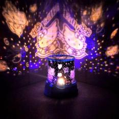 Lampu Hias Proyektor Star Master / Lampu Kamar Tidur - HeloKitty1 / HelloKitty2 Random