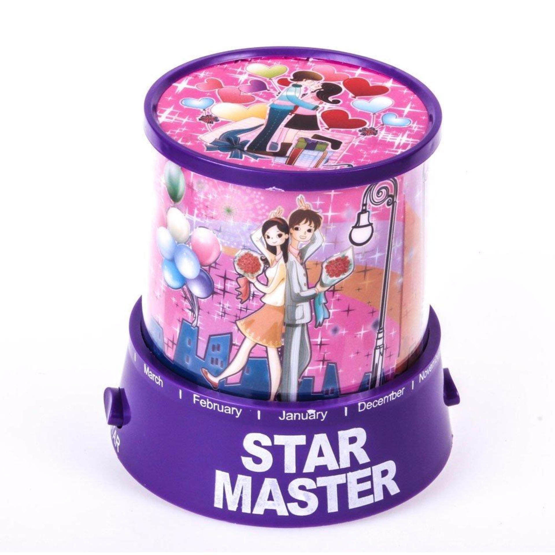 Lampu Hias Proyektor Star Master / Lampu Kamar Tidur - Romantic Lamp Kiss Love