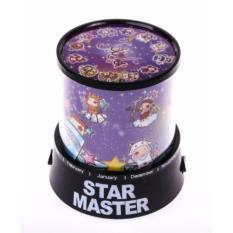 Lampu Hias Proyektor Star Master / Lampu Kamar Tidur - Zodiak Horoskop
