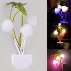 Lampu Jamur LED Unik / Lampu Tidur / Lampu Dekorasi Kamar / Lampu Sensor Cahaya