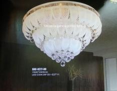 lampu kristal led  minimalis dekorasi ruang keluarga 8277/80