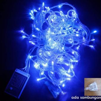 lampu LED biru - lampu tumblr - lampu hias taman - lampu dekorasi pesta lampu hbd