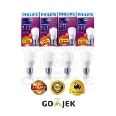 Lampu LED bohlam Philips 3w/watt Beli 3 gratis 1 Putih
