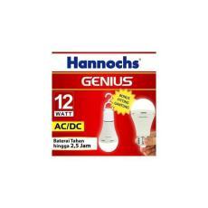 Lampu Led Emergency/Darurat/Cas/Magic 12 Watt Hannochs Genius