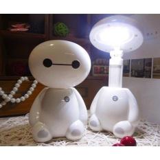 Review Lampu Led Meja Model Kartun Baymax White Universal