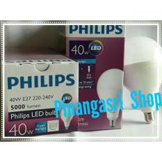 Lampu LED Philips 40 Watt Bohlam 40W / Philip Putih 40 W Bulb 40Watt Fitting E27