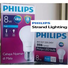 Jual Lampu Led Philips 8 W 8 Watt Putih Philips Original
