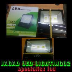 Lampu Led Sorot 150 Watt L Lampu Tembak L Kap Lampu L Lampu Sorot COB 3 MATA 150 WATT Warna Kuning