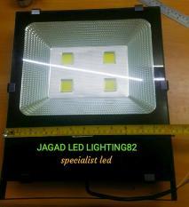 Lampu Led Sorot 200 Watt L Lampu Tembak L Floodlight L Kap Lampu L Lampu Sorot COB 4 Mata 200 WATT