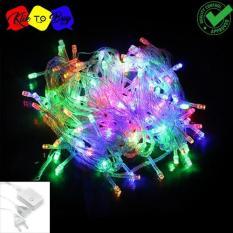 Lampu LED Tumblr / Lampu Hias Natal LED 10m + Colokan - RGB/Warna Warni