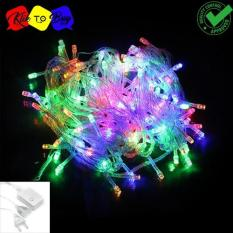Lampu LED Tumblr / Lampu Hias Natal LED 10m + Colokan Sambungan - RGB/Warna Warni