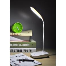 Beli Lampu Meja Led With Rechargeable Battery By Usb Lm05 White Online Murah