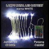 Review Lampu Natal Led Baterai Batre A2 Panjang 4 Meter Led Di Jawa Barat