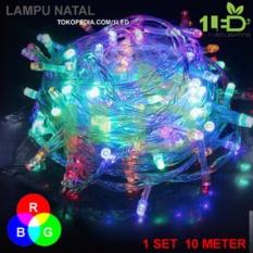 Lampu Natal LED WARNA WARNI Twinkle Light hias pohon Christmas