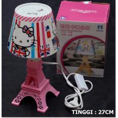 Jual Lampu Paris Tudung Karakter Hello Kitty Lampu Tidur Original