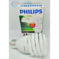 LAMPU PHILIPS 24 WATT - TORNADO PUTIH