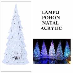 Lampu Pohon Natal Acrylic Christmas Eve