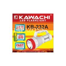 Lampu senter (led flashlight) KB-232A KAWACHI