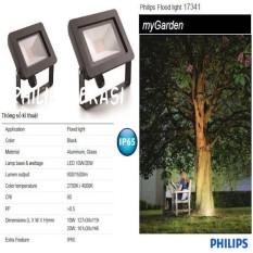 Lampu Sorot LED Floodlight Philips 10 Watt 17341 2700K