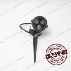Lampu Sorot Pohon Spotlight Outdoor/Indoor Tancap LED 3W White Murah