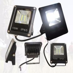 Lampu Tembak 10 watt Cahaya Putih 6500K Sinar Cahaya Sangat Terang Lampu Sorot 14 SMD LED 220V Hemat Energi Serta Aman Dalam Penggunaan