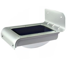 Lampu Tenaga Surya 16 LED Sensor Suara Dan Gerak Stainless