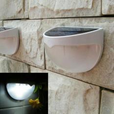 Lampu Teras Tenaga Surya / Lampu Taman Solar Cell (White) - Lazpedia
