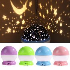 Lampu Tidur Proyektor Star Moon - Lampu Hias Lampu Tidur Unik Lampu Unik Lampu Proyektor Tidur Lampu Proyeksi Tidur - Mix Colour