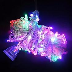 Lampu Tumblr Natal Led Dekorasi Twinkle Light Rainbow Rgb Multicolor Emico Diskon 40