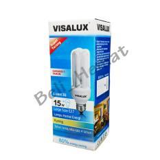 Lampu VISALUX 3U 15W E27 CDL / WW
