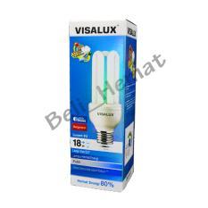 Lampu VISALUX 3U 18W E27 CDL / WW