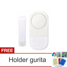 lanjar jaya Alarm Pintu Jendela Rumah Anti Maling - Door Window Entry Alarm + Holder Gurita