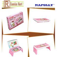 Lapdesk Napolly ( meja belajar plastik)
