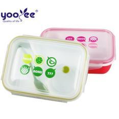 Perbandingan Harga Laris Yooyee Lunch Box 3 Sekat Bento 414 Kotak Bekal Makan Tempat Sup Merah Di Dki Jakarta