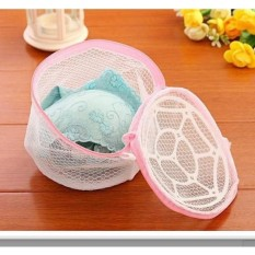 Laundry bag bra double layer Zipper - Pengaman Bh Underwear mesin cuci