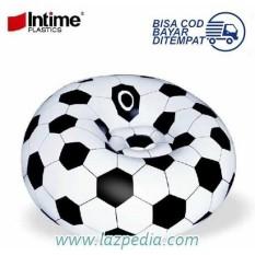 Laz COD - Sofa Angin Bola Soccer INTIME Design Unik & Lucu / Motif Sepak Bola - Lazpedia