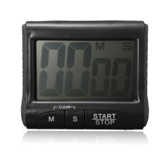 Ulasan Lengkap Tentang Lcd Digital Screen Magnetic Cooking Kitchen Timer Count Down Up Clock Loud Alarm Black