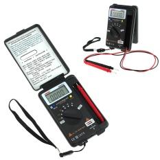 LCD Mini Auto Range AC/DC Pocket Digital Multimeter Voltmeter Tester Alat-Internasional