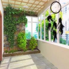 Leather Dream Dream Online India Pemimpi Bulu Tali Hitam Oleh LuckyG-Intl