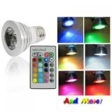 Jual Led Color Changing Light Bulb With Wireless Remote Led Murah