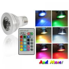 Led Color Changing Light Bulb With Wireless Remote Promo Beli 1 Gratis 1