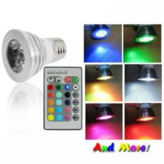 Harga Led Color Changing Light Bulb With Wireless Remote Led Baru