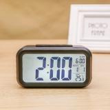 Spesifikasi Led Digital Alarm Jam Pagi Backlight Jam Alarm Listrik Dengan Dimmer Baterai Dioperasikan Layar Lcd Besar Tampilan Suhu Nightlight Dan Tunda Hitam Intl Dan Harga
