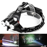 Promo Led Headlight Flashlight Torch Cree 3X Xm L T6 Headlamp Head Light Lamp Intl Not Specified