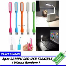 Led Light Usb / Lampu Led Usb Fleksibel [ Paket Hemat 3pcs ] By Sm_acc.