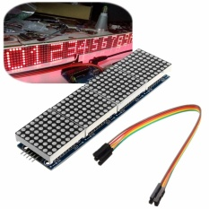 Led Max7219 Dot Matrix Modul Display 4 In 1 5Pin Kabel Arduino Pic Pi Lengan 5 V Intl Not Specified Diskon 30