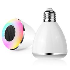 Review Led Multicolor Light Bulb Bluetooth Speaker Dl Pc002 White Led