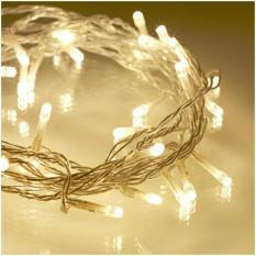 LED NATAL WARM WHITE 100 Lampu Hias Christmast KUNING Tumbler Twinkle Cafe Toko Hotel Bagus Grosir Murah